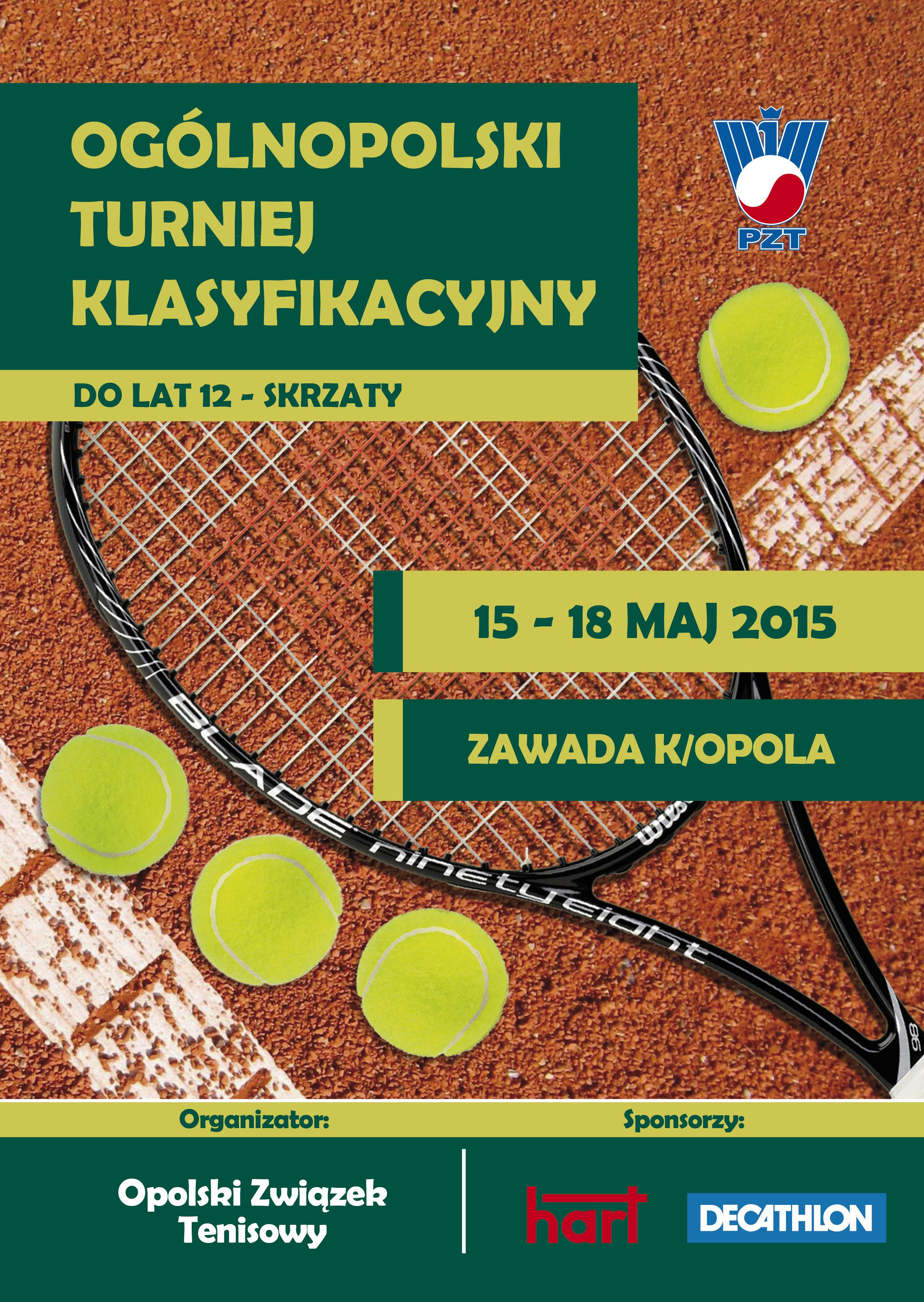 Plakat na turniej OTK Skrzaty