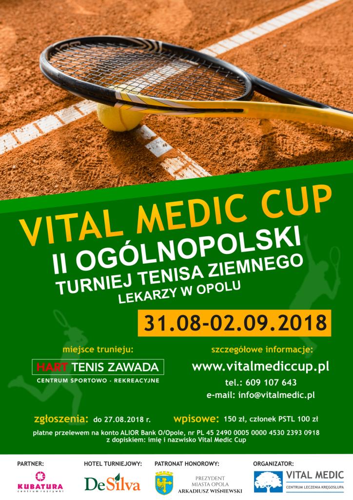 Plakat Vital Medic Cup